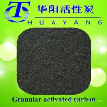 Filtro de carbono ativado em colunas para purificação de água potável