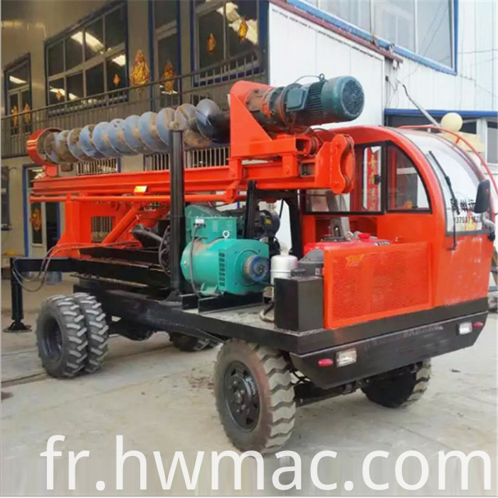 truck mounted pile driver1
