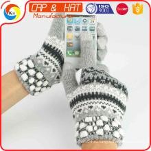 2015 Горячие продавая теплые перчатки, перчатки экрана касания перчатки Smartphone, перчатки Whoelsale в Кита