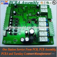 Carte de contrôle d'accès réseau pour les systèmes de sécurité pcba smt pcb assembly