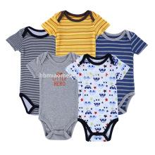 2017 Sommer auf Lager Baby Body Kurzarm Baby Strampler New Born Baby Kleidung
