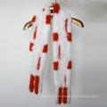 Écharpes en cuir contrasté pour femmes en vrac