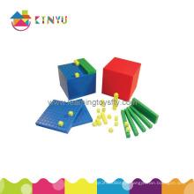 Plastic Base 10 Decimal Blocks (K001)