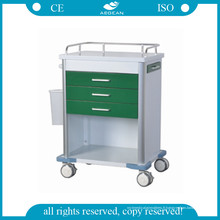 AG-GS005 Chariot vert foncé de médicament d'hôpital