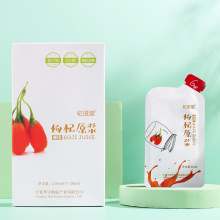 Suco de bagas de Goji anti-envelhecimento