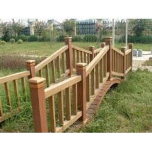 Baochu Outdoor Landscape WPC Fence with Low Maintenance (100*100)
