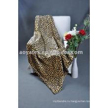 Печатные искусственный мех одеяло