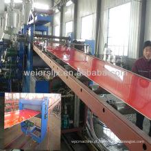 Máquina para fabricação de folha dupla camada PP