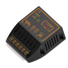 Controlador del sistema de energía de la batería solar PWM 12V 24V 10A con control de chips