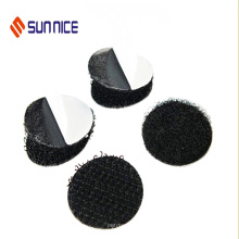 Crochet adhésif et Loop Dots Loop Loop Black Glue Dot