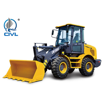 Xcmg 5 ton Shangchai Engine Wheel Loader LW500F
