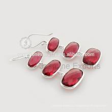 Модные Ювелирные Изделия Красный Оникс Драгоценных Камней Для Оптовая