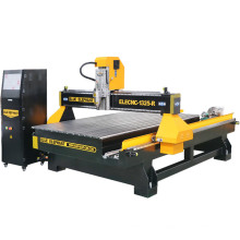 Blue Elephant 1325 MDF Carving Machine, Wood Working Machinery 4 Axis CNC Router with Big Rotary