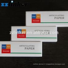 Fournisseur dentaire de haute qualité Médical Articulant le papier