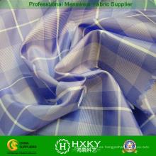 Hilado teñido de tela de poliester con cheques para camisa o forro