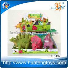 10-дюймовые игрушки динозавра пластиковые динозавры с BB звук для ребенка H113492