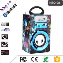 BBQ KBQ-08 10W 800mAh Karaoke drahtlose Bluetooth LED-Lautsprecher Birne