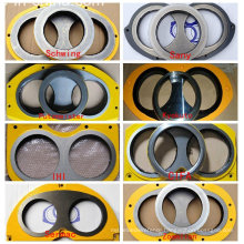 Truck Mounted Concrete Pump Wear Plate and Cutting Ring for Pm Schwing Zoomlion Sany Kyokuto