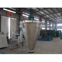 Misturador cônico do dobro-parafuso da série de 2017 DSH, misturador de parafuso dobro dos SS, equipamento de mistura horizontal do pó seco