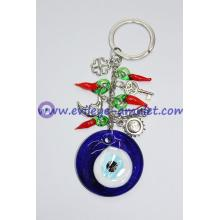 Blue Evil Eye Keychain Various Greek Jewelry Charm Charms