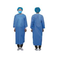 Bata quirúrgica estéril desechable de aislamiento