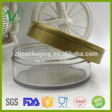 Garrafa de plástico para uso cosmético de PET de alta qualidade para cosméticos