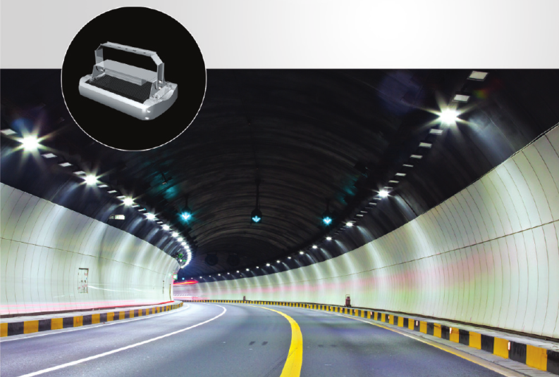 LED tunnel lamp