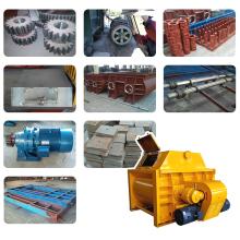 Литье запасных частей для бетоносмесителя Средний смесительный рычаг