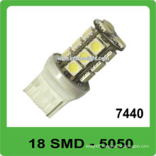 7440 7440 led car lighting 18 SMD 5050 auto bulb