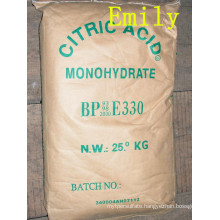High Quality Citric Acid Anhydrous or Monohydrate