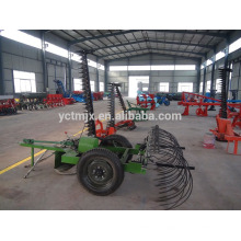 Farm Tractor hay rake/ mower with raker Agricultural machinary weed cutter