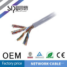 SIPU utp cat5 50 pair cat5e multi-pair lan cable price per meter
