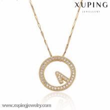 32325-Xuping женщин Золотой сплав кулон ювелирные изделия часы подвески