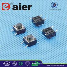 botão micro smd; interruptor de botão 4 pinos