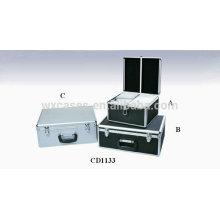 caliente vender discos de CD de 300 y 450 caja de CD de aluminio