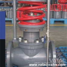 BS1873 Válvula de control de globo operado neumáticamente