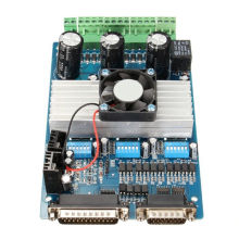 High quality mach3 breakout board for 3 axis stepper motor