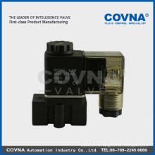 Пластиковый электромагнитный клапан 1/4 дюйма