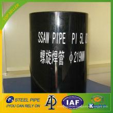 Tubulação de aço espiral API 5L