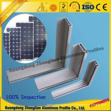 Profil en aluminium pour le cadre solaire de cadre de panneau solaire