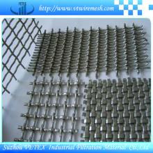 Treillis métallique crêpé de maille pour la construction