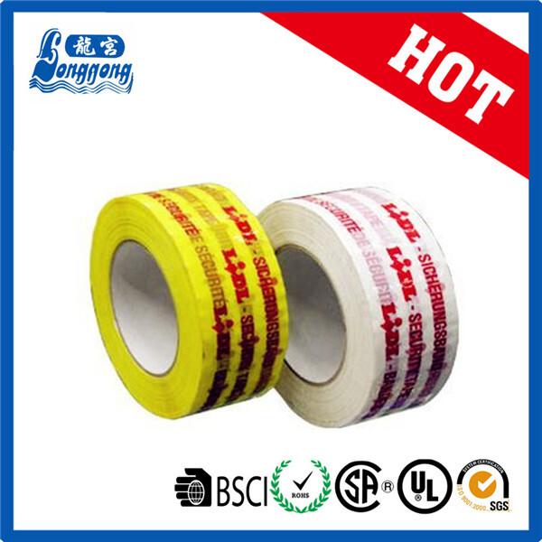 super clear printed bopp tape
