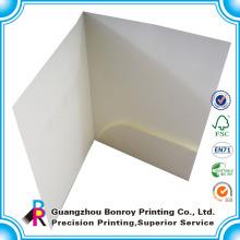 Мода ручной работы бумага картон декоративные файл папки