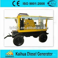 Генератор 50kva приведенный в действие yuchai прицеп типа дизель-генератор