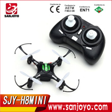 JJRC H8 Mini Headless Mode 2.4G 4CH 6 Axis RC Quadcopter RTF Mode2-Black SJY-H8MINI