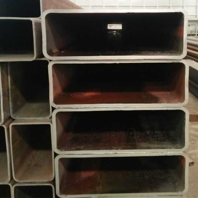 ASTM A500 carbon ms erw steel square pipe