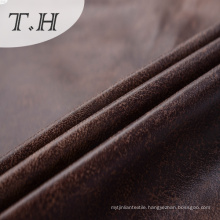 Suede Leather Like Car Upholstery Fabric