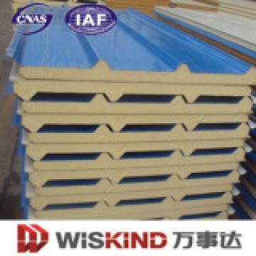 Neue Mineralwolle Sandwichplatte für Dach
