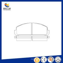 Venta caliente auto piezas de chasis Auto Brake Pads fabricantes Gdb178 / 20564 / D132