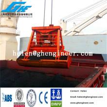 Control remoto inalámbrico agarre hidráulico 0.5cbm - 16cbm para material a granel, madera, fertilizante